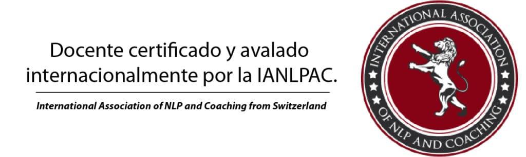 Docente certificado por IANLPAC
