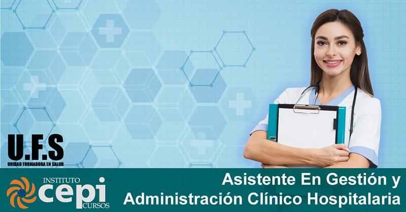 Asistente En Gestión Y Administración Clínico Hospitalaria