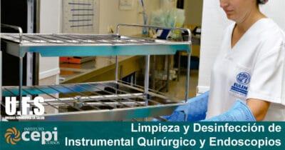 Curso de Limpieza Y Desinfección De Instrumental Quirúrgico Y Endoscopios