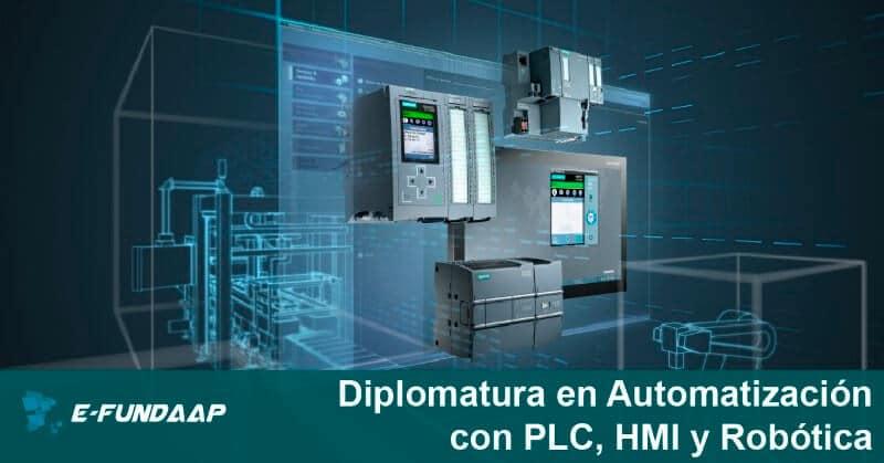 DIPLOMATURA EN AUTOMATIZACIÓN CON PLC, HMI Y ROBÓTICA